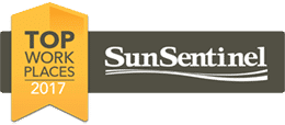 Top Workplace by the Sun-Sentinel