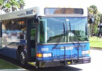 Picture of a HART transit bus