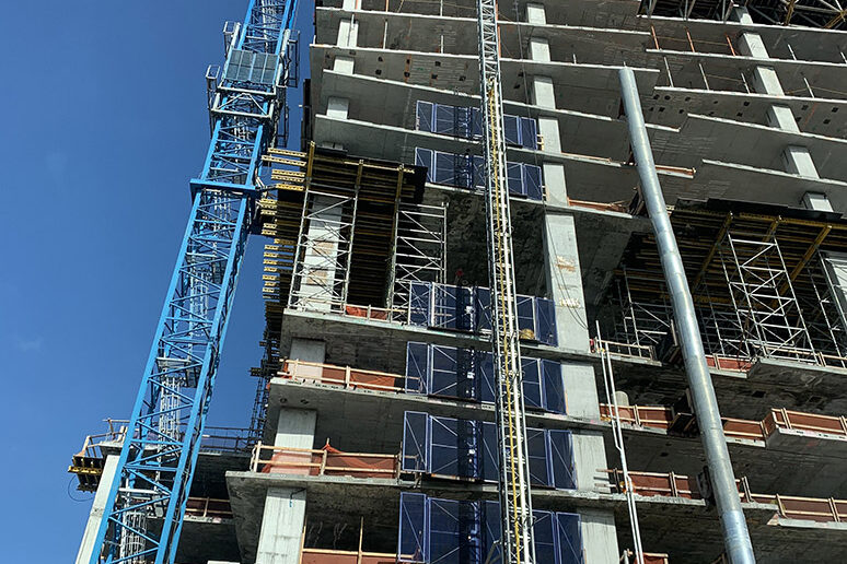 Worker Injured By Falling Wall at Construction Site in West Palm Beach