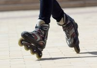 Picture of girl rollerblading