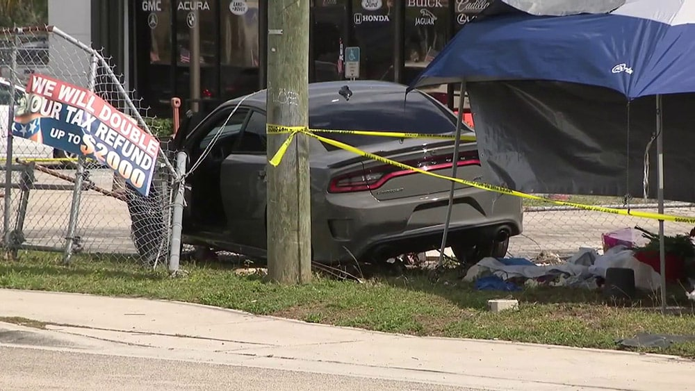 2-year-old Killed When Driver Crashes Into Vendor Tent near Homestead
