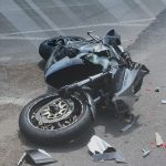 Man Struck While on Motorcycle