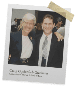Craig Goldenfarb Graduates from University of Florida
