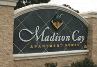 Madison Cay apartment complex shoor